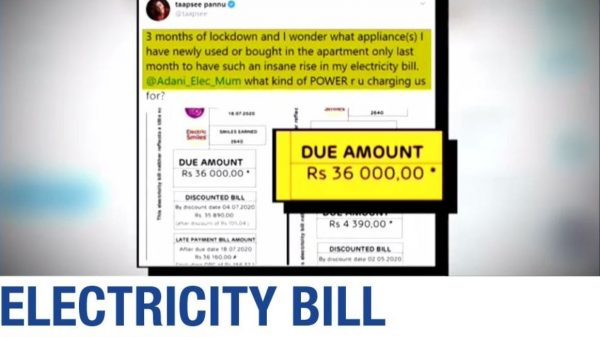 inflation of electricity bills