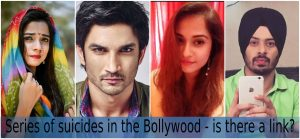 Series of suicides in the Bollywood industry