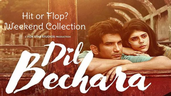 Weekend collection of Dil Bechara