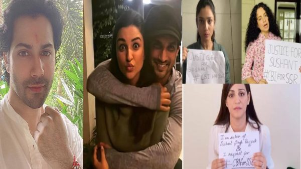 Bollywood unites for Sushant Singh Rajput