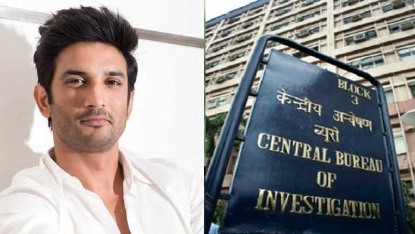 CBI team on Sushant Singh Rajput case