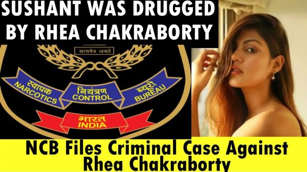 NCB files criminal case against Rhea Chakraborty