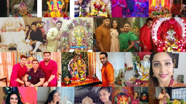 television actors celebrate Ganesh Chaturthi 2020