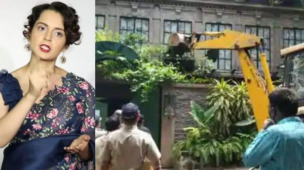 BMC demolishes Kangana Ranaut