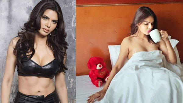 Hot & sensual pictures of Playboy girl Sherlyn Chopra
