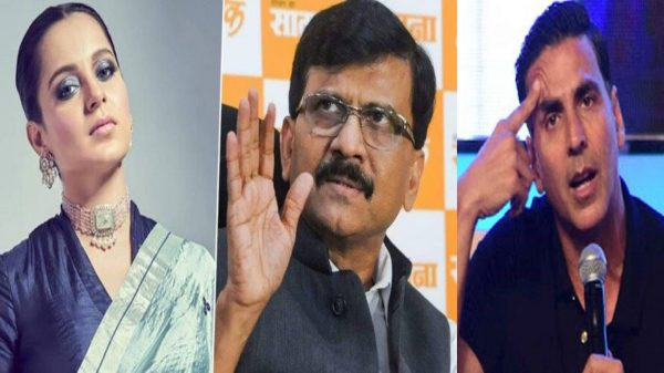 Shiv Sena's Sanjay Raut lashes at Akshay Kumar for Kangana