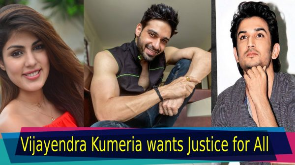 Vijayendra Kumeria wants Justice for all