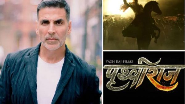 Akshay Kumar re-starts shooting Prithviraj