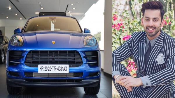 Himansh Kohli's new car