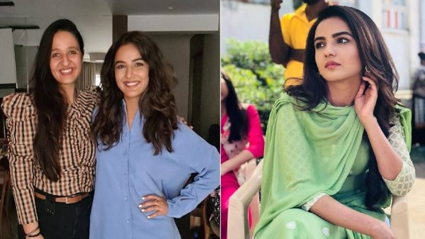 Jasmin Bhasin all in awe of stylist Simrat Bohra