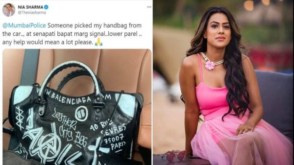 Nia Sharma's handbag worth over Rs. 1,32,000
