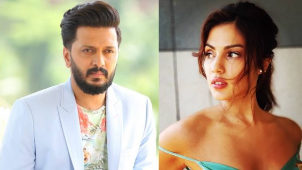 Riteish Deshmukh supports Rhea Chakraborty
