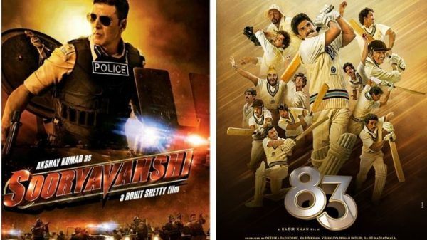 Sooryavanshi & '83 to release at theatres