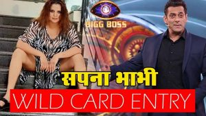 Wild Card Entry of Bigg Boss 14 Sapna Bhabhi