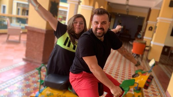 Delnaaz Irani escapes to Goa