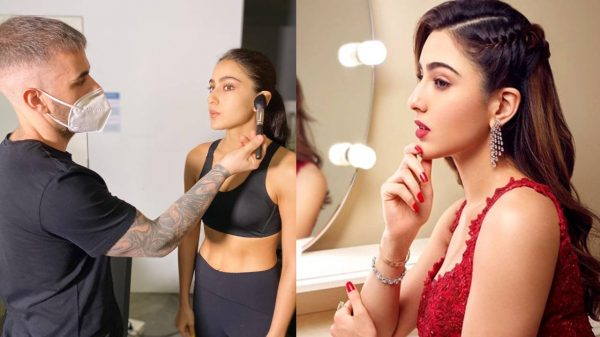 Sara Ali Khan preps for an ad-shoot in Dubai