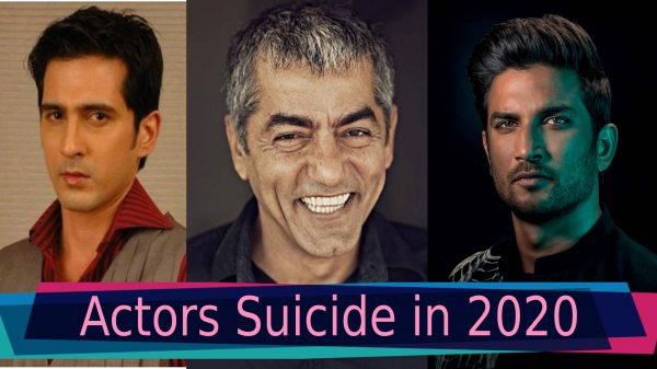 Know all about the film industry actors that died of suicide in 2020. Sushant, Asif & more film industry actors that died of suicide in 2020.