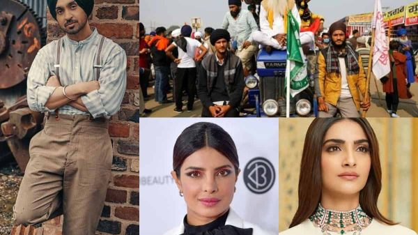 Bollywood Celebs stand in solidarity for Indian Farmers