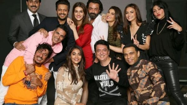 Sajid Nadiadwala brings together the whole cast