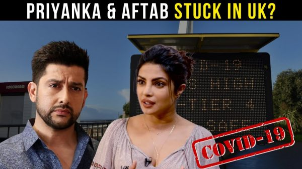 Priyanka Chopra and Aftab Shivdasani are stranded