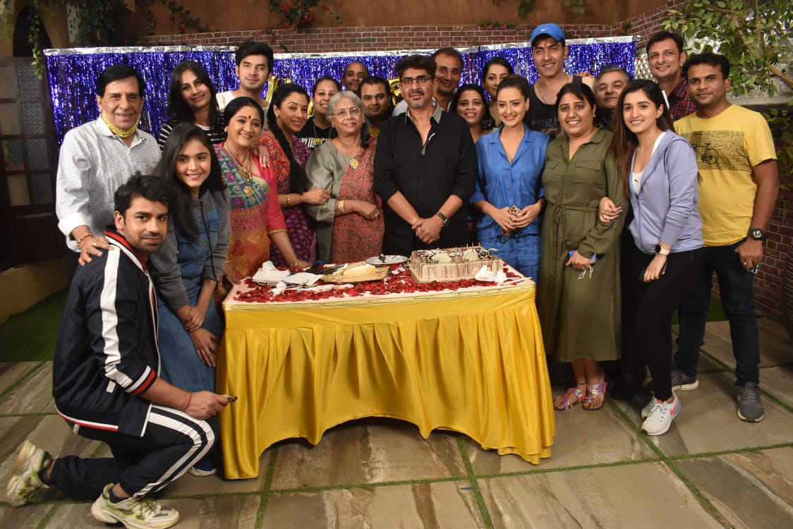 The cast of Anupamaa celebrates