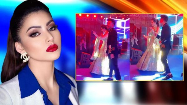 Urvashi Rautela grooves to the Punjabi wedding dhol