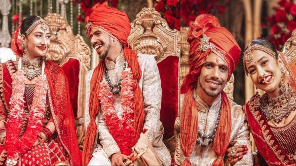 Yuzvendra Chahal & Dhanashree Verma gets married