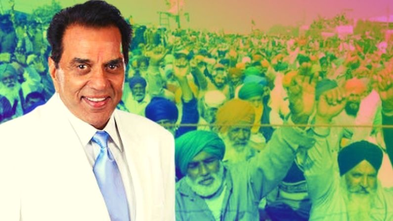 Dharmendra comes in support of Indian farmers