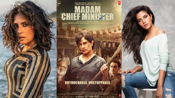 Richa Chadha's look for Madam Chief Minister