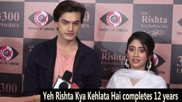 Shivangi Joshi on YRKKH completing 12 years
