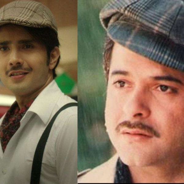 Zaan Khan recreates the look of Anil Kapoor
