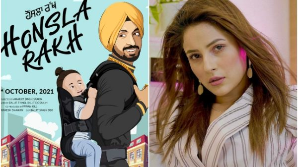 Diljit Dosanjh turns producer with Honsla Rakh