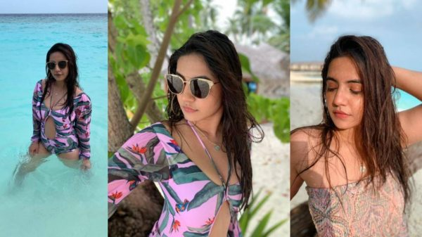 Meera Deosthale Maldives pictures