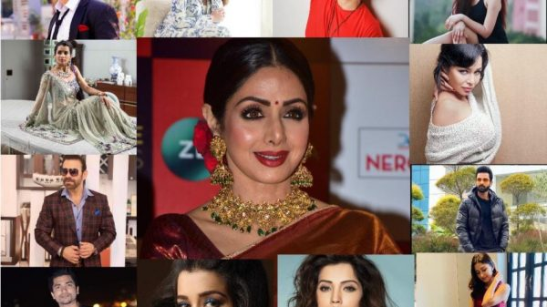 TV actors remember Sridevi