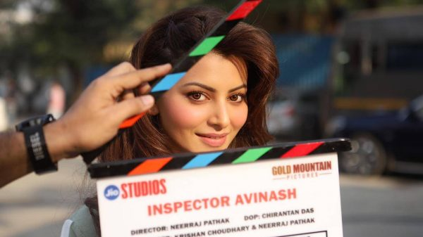 Urvashi Rautela wraps up the first schedule of Inspector Avinash
