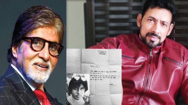 Amitabh Bachchan wrote a letter to CID actor Hrishikesh Pandey