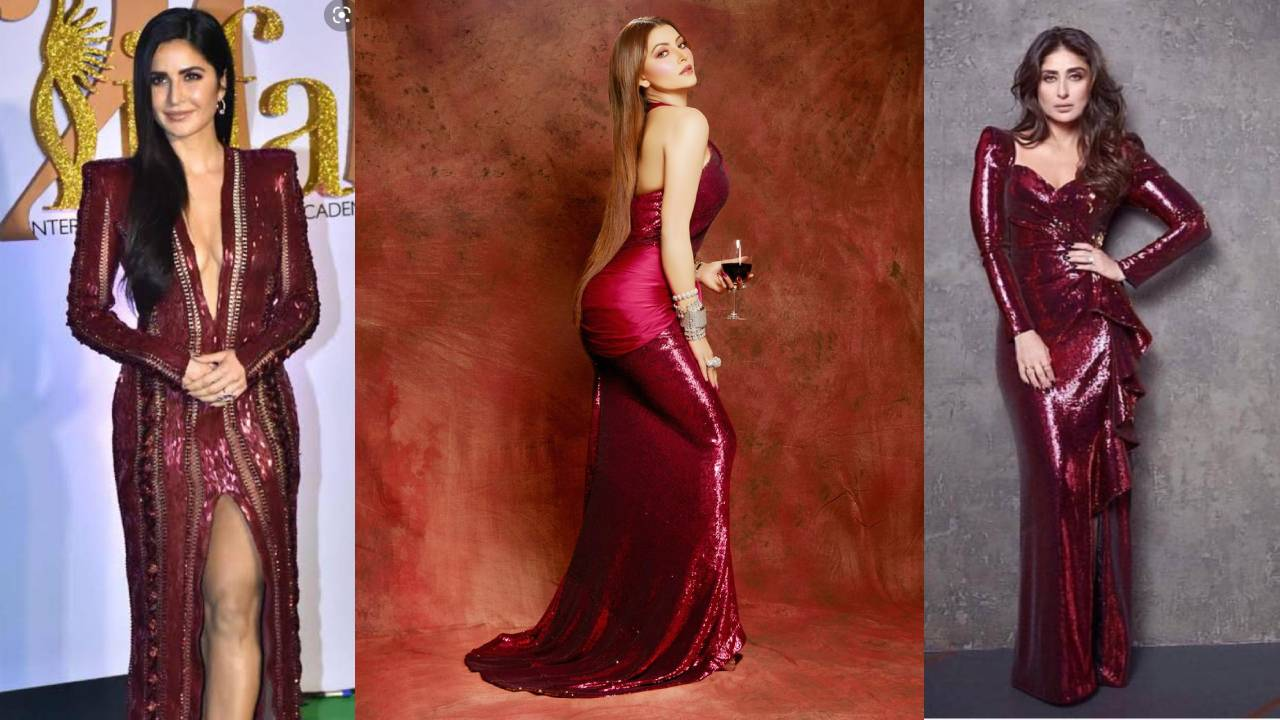Bollywood divas bring Crimson Red in trend