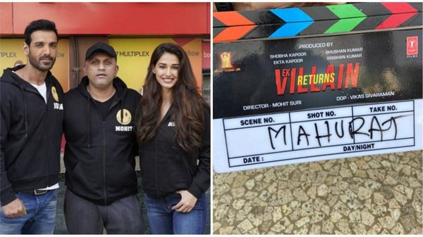 Shooting begins for Ek Villain Returns