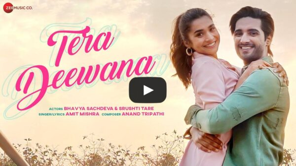 Tera Deewana trending on YouTube