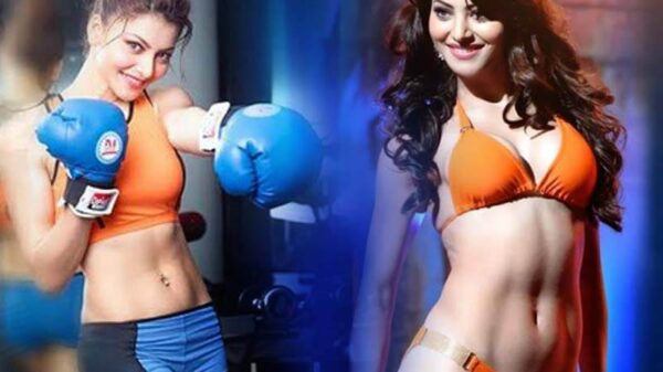 Urvashi Rautela boxing video