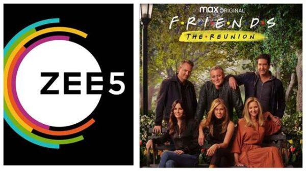 Zee5 to stream Friends reunion in India