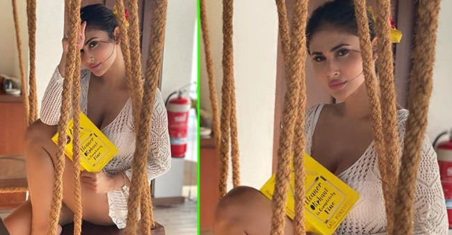 Mouni Roy Flaunts Her Flawless Body In White   View PICS