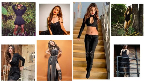 From Tv bahus to hot babes, TV divas bewitching the black! | View Photos Inside