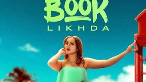 Arshi Khan Unveils The First Look Of Her Upcoming Song Book Likhda