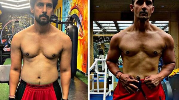 Ravi Dubey shares a stunning before-after pic of post-Covid recovery transformation