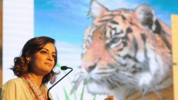 Dia Mirza on the International Tiger Day