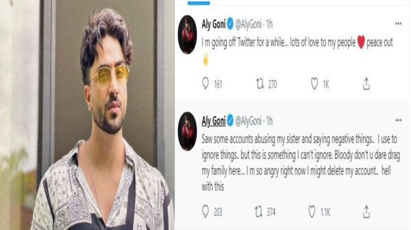 Aly Goni quits Twitter after fans attack family