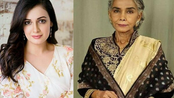 Dia Mirza mourns the demise of Surekha Sikri   Says,'There is no one like her'