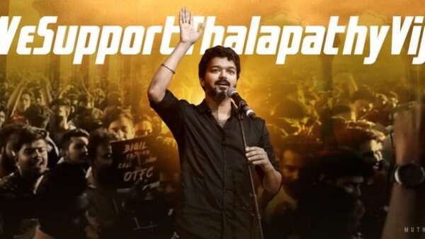 #WeSupportThalapathyVijay trends on Twitter