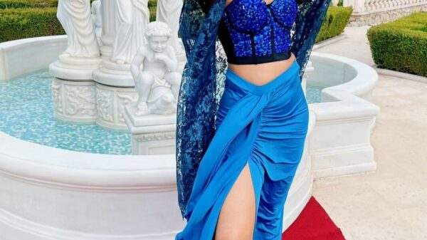 Cannes Film Festival 2021 welcomes designer Anjali Phougat's muse Chaitanya Poloju on the red carpet in Designerdreamcollection